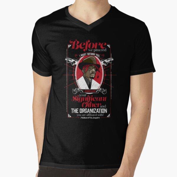 Gentlemayne - Makaveli  V-Neck T-Shirt