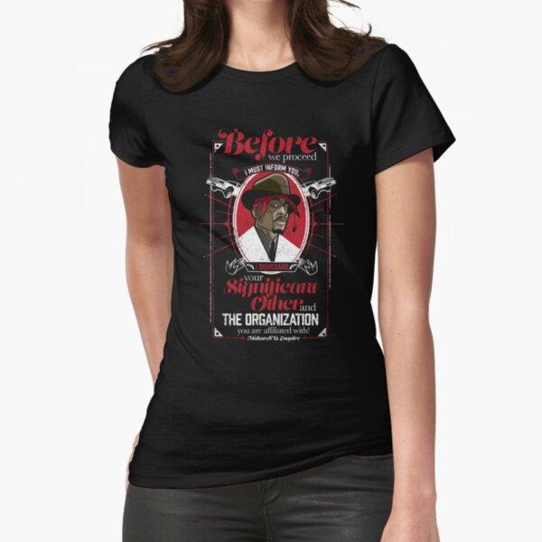 Gentlemayne - Makaveli  Fitted T-Shirt