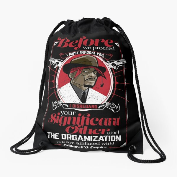 Gentlemayne - Makaveli  Drawstring Bag