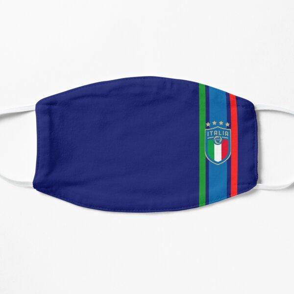 Mask the national Italy football. Flat Mask