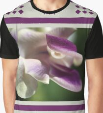 Corkscrew Flower  Full Bloom Graphic T-Shirt