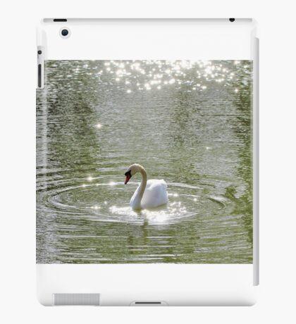 Sparkly Swan iPad Case/Skin