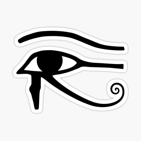 Egyptian Art: Eye of Horus Sticker