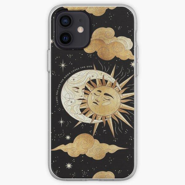Moon & Sun iPhone Soft Case