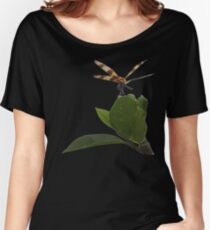 Dragonfly on Mangrove Remix Women's Relaxed Fit T-Shirt
