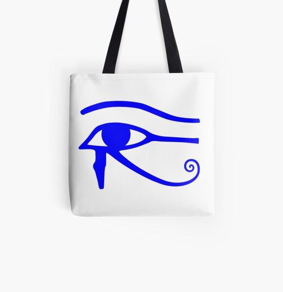 Egyptian Art: Eye of Horus All Over Print Tote Bag