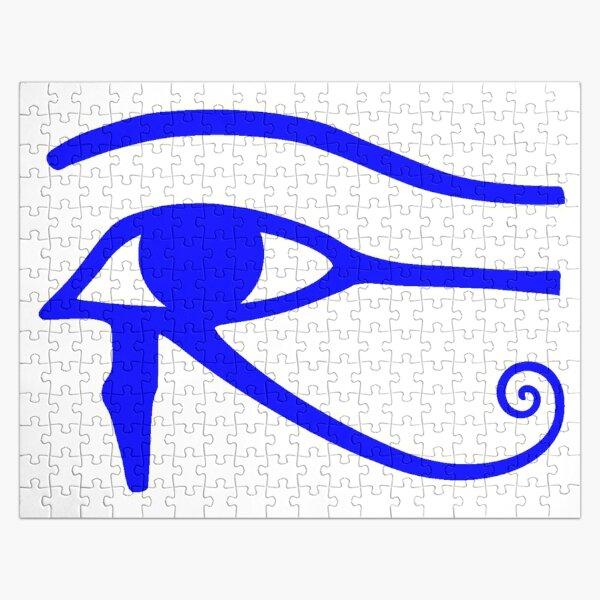 Egyptian Art: Eye of Horus Jigsaw Puzzle