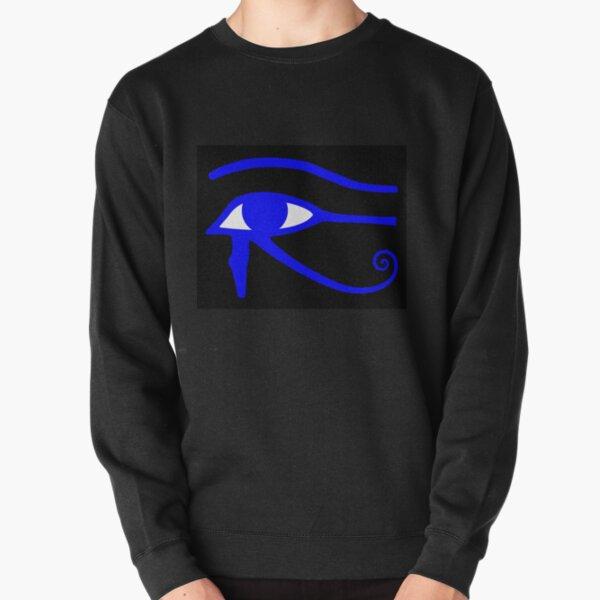 Egyptian Art: Eye of Horus Pullover Sweatshirt