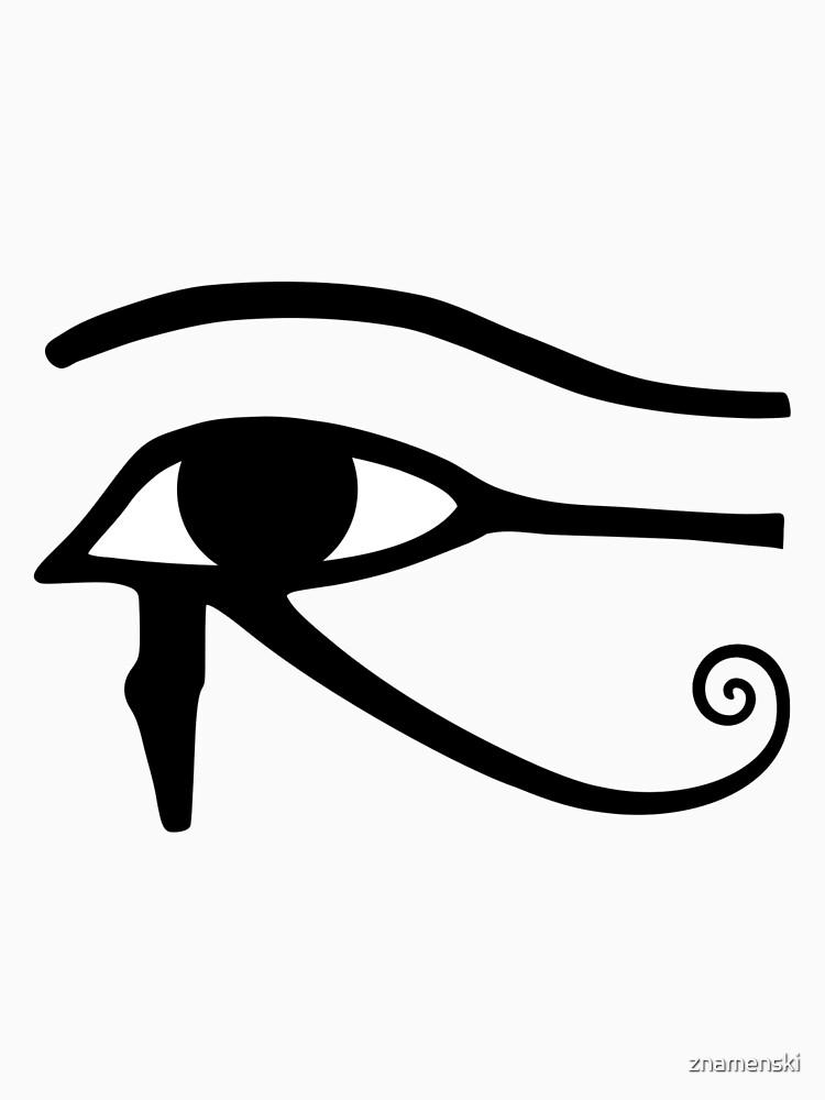 Egyptian Art: Eye of Horus by znamenski