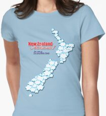 The Land of The Long White Cloud, New Zealand T-Shirt