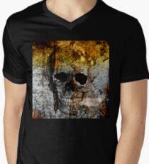 Grungeskull Men's V-Neck T-Shirt