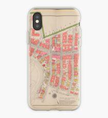 Vinilo o funda para iPhone Section 12 Bronx map