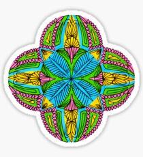 Bubblegum mandala - OneMandalaADay Sticker