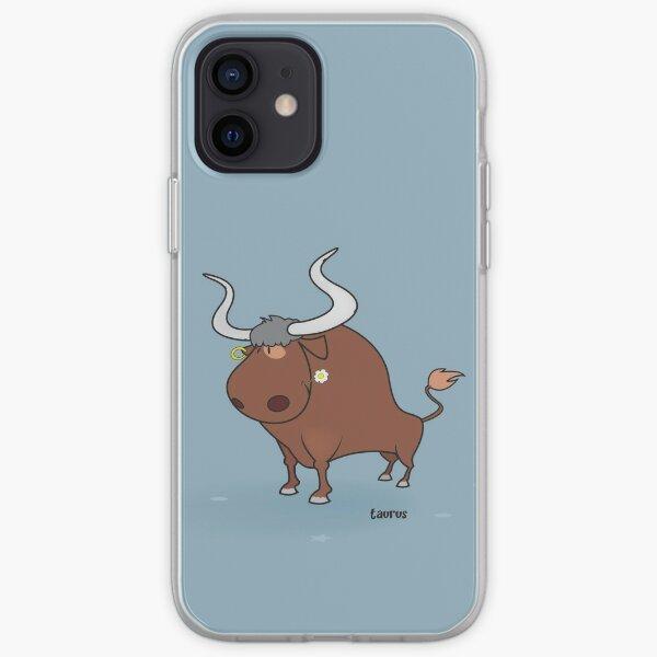 funny zodiac/taurus iPhone Soft Case