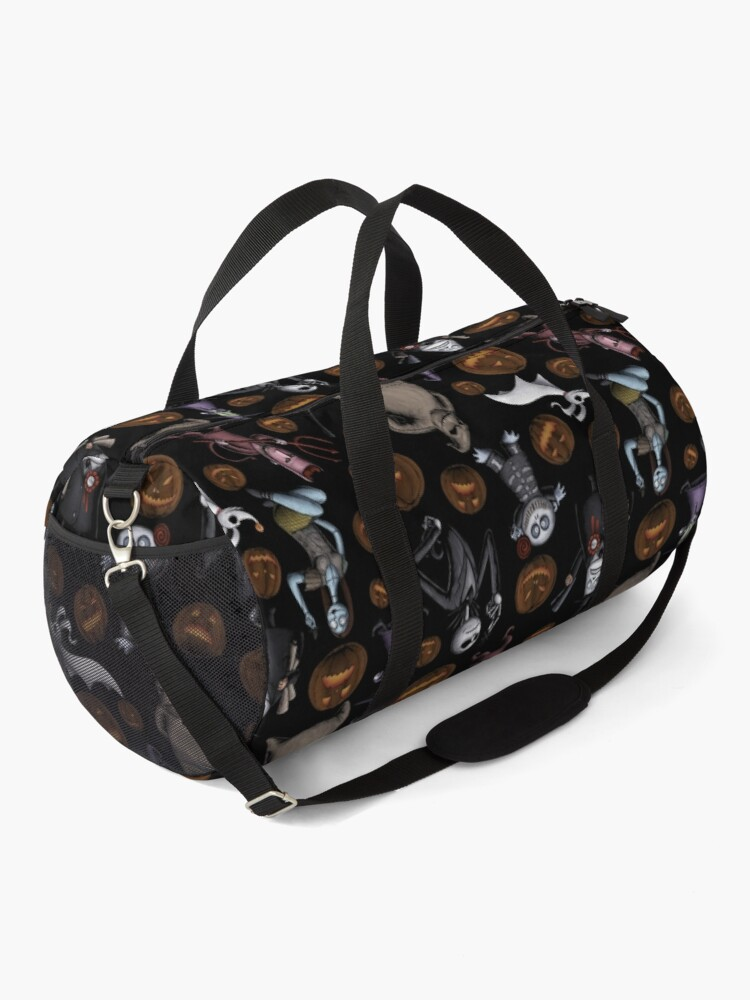 Alternate view of Pattern - The Nightmare Before Christmas Duffle Bag