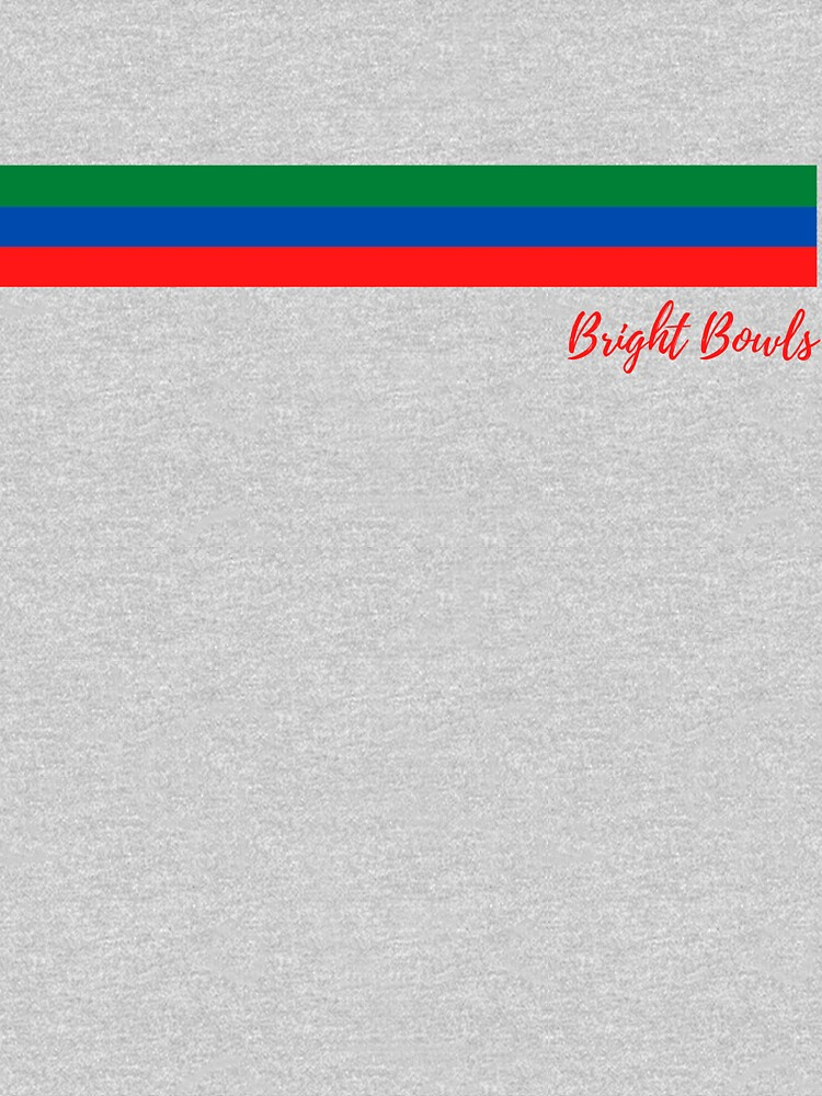 red green and blue stripes by BRIGHTBOWLS