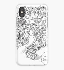 Doodlemon iPhone Case