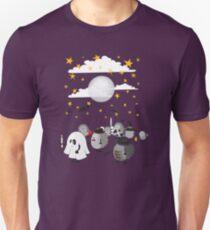 halloween hedgehogs party gang Unisex T-Shirt