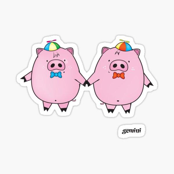 funny zodiac/gemini Sticker