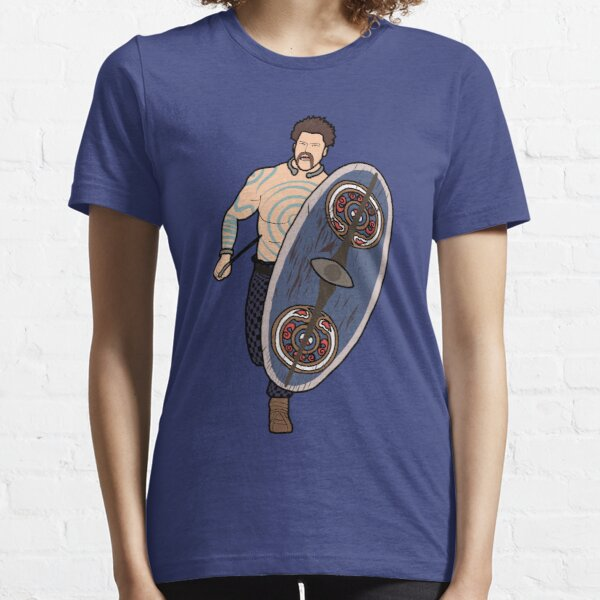 Iceni Painted Warrior Essential T-Shirt