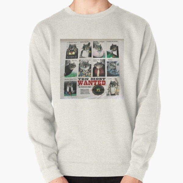 Ten Most Wanted!!! Pullover Sweatshirt