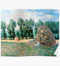 1885-Claude Monet-Haystacks-65 x 81 Poster