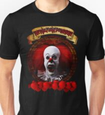 Tim Curry Pennywise Stephen King T-Shirt T-Shirt