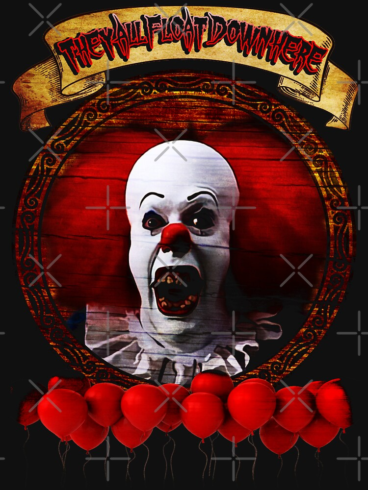 Tim Curry Pennywise Stephen King T-Shirt | Unisex T-Shirt