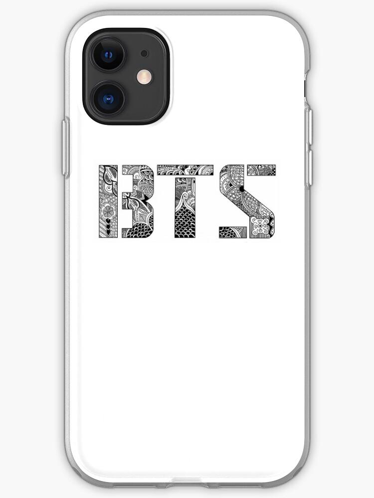 BTS Bangtan Boys Logo iphone case