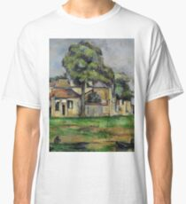 Paul Cezanne - Banks of the Marne  1888 Impressionism  Landscape Classic T-Shirt