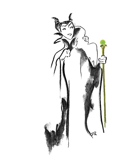 Where Pictures Shine - Maleficent and her Staff by Douglas Rickard
