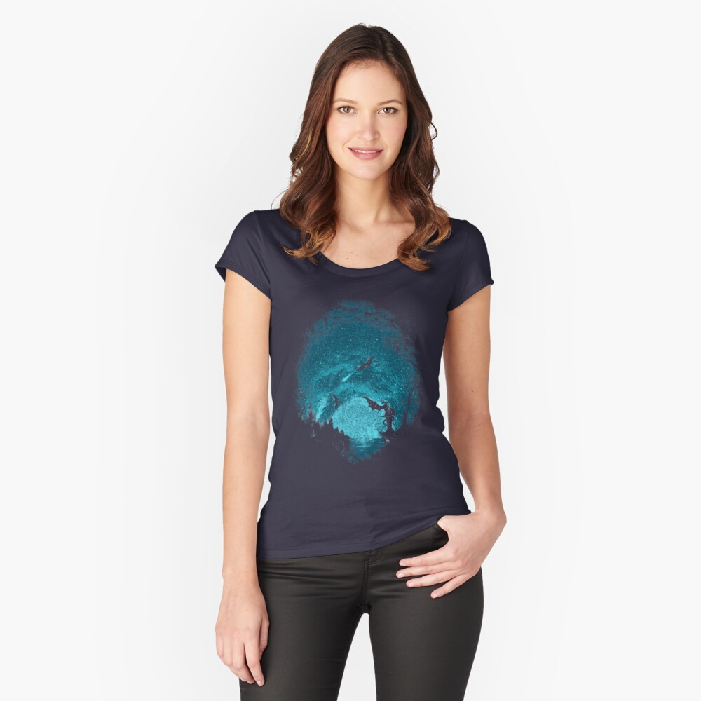 Mother Of Dragons Fitted Scoop T-Shirt