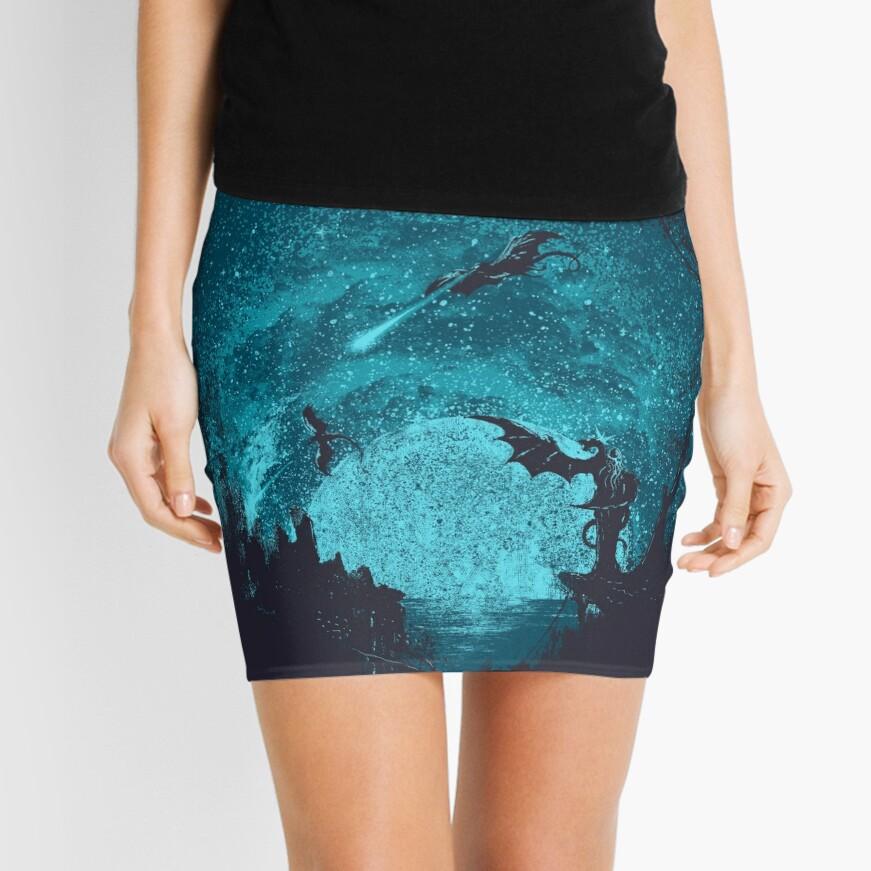 Mother Of Dragons Mini Skirt
