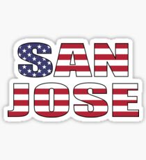 San Jose. Sticker