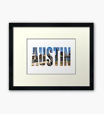Austin Lámina enmarcada