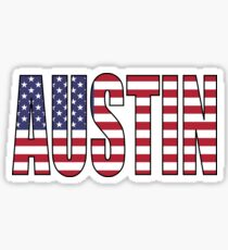 Austin. Sticker