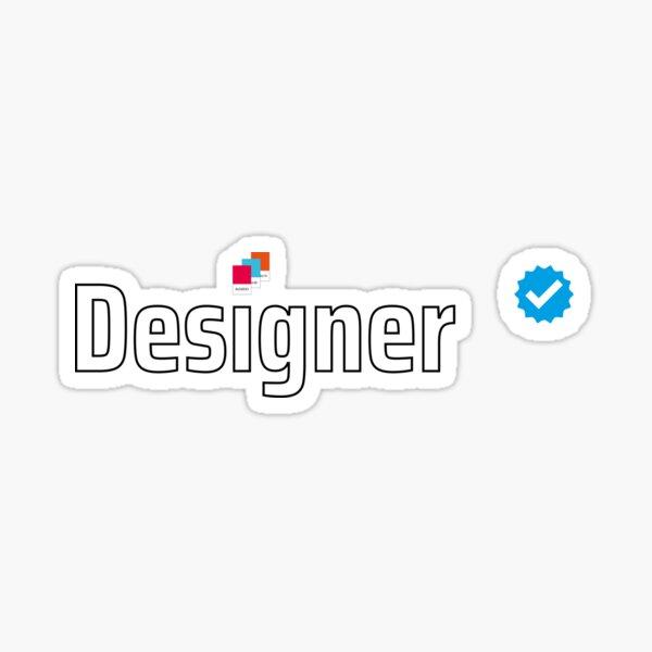 Verified Designer Sticker