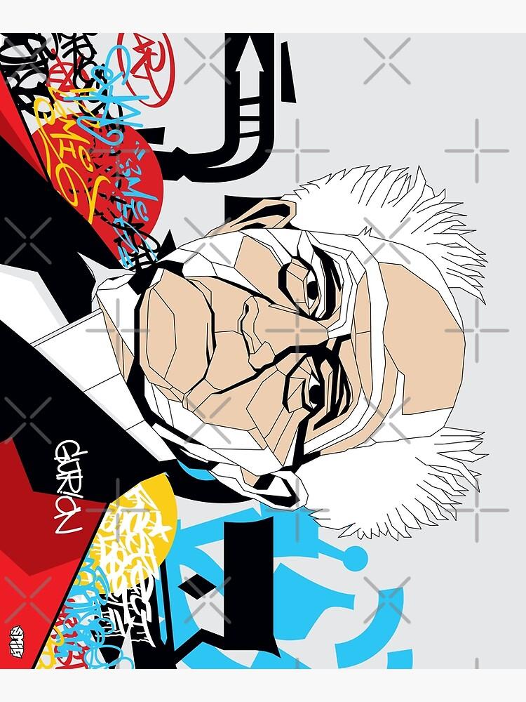 David Ben-Gurion portrait - Pop Art Israeli leader by SMIGONLINE