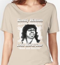 Randy Watson 1988 World Tour Women's Relaxed Fit T-Shirt
