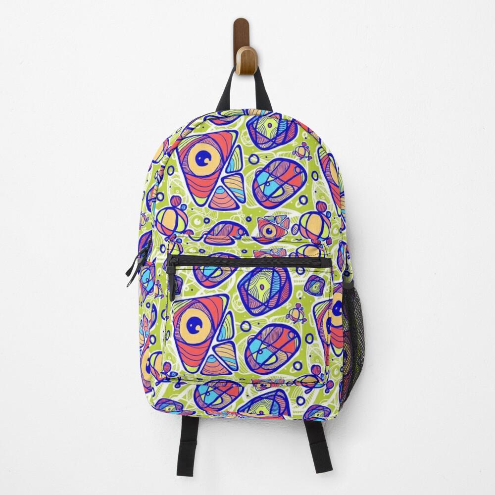 Street Art Graffiti Pattern Backpack
