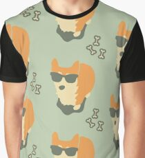 Cool Corgi Graphic T-Shirt