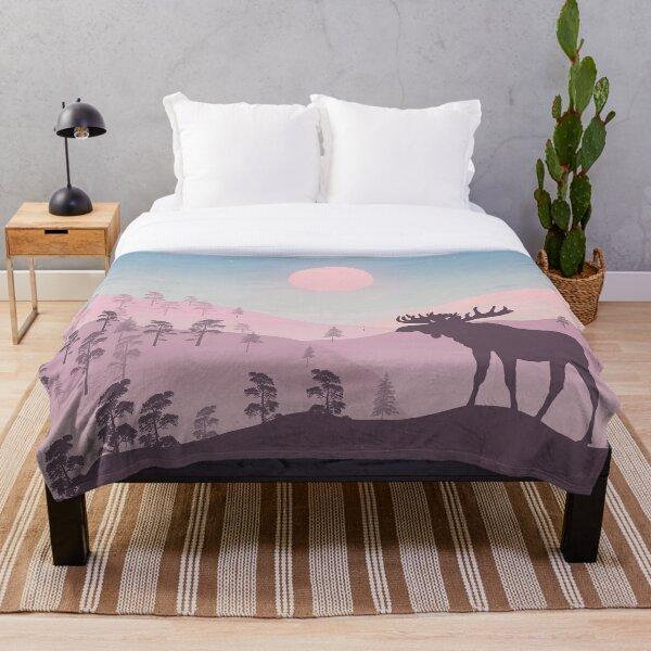 Scandic vibes - minimal art Throw Blanket