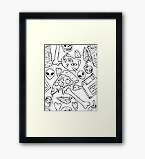 Witchy Saturday Framed Print