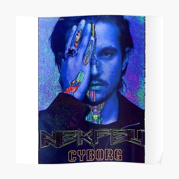 Nekfeu Cyborg Poster