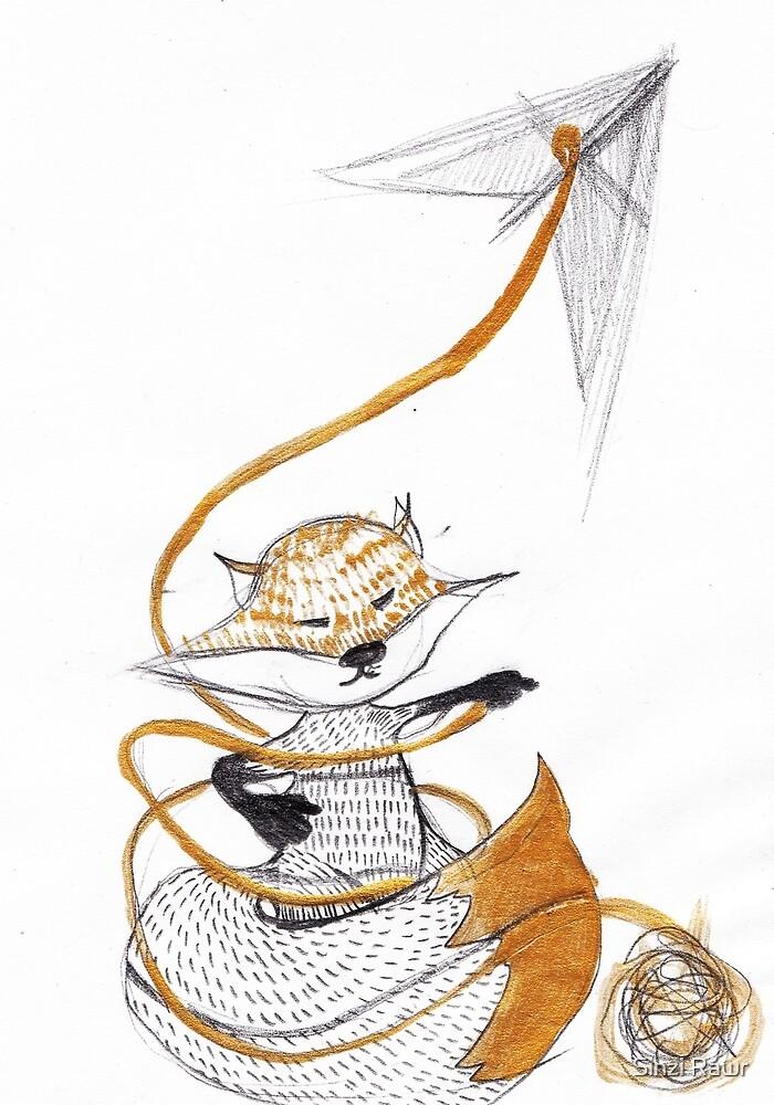 High as a kite. by Sinziana Cristea