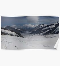 Jungfrau Mountain Top Of Europe Poster