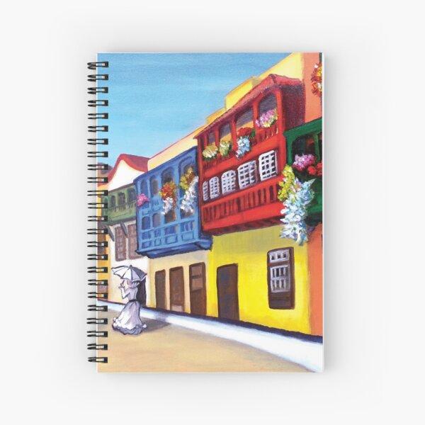 Balcones de Santa Cruz Cuaderno de espiral