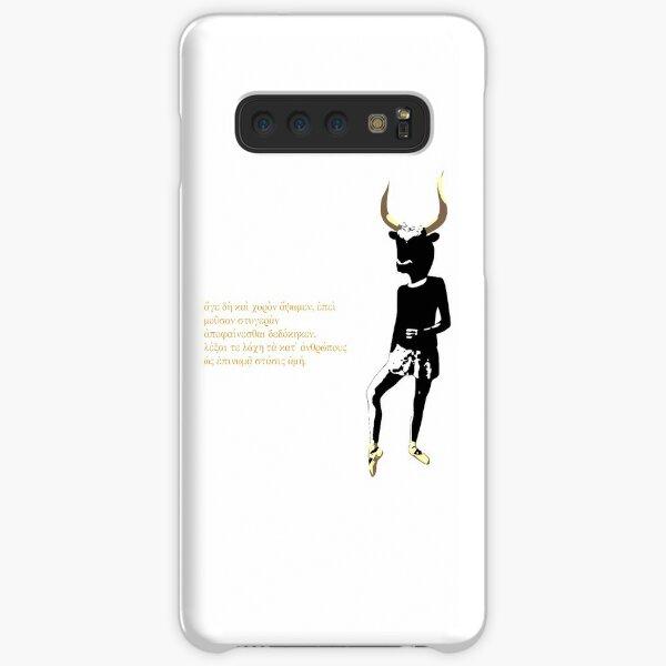 Self-portrait, bull-headed Samsung Galaxy Snap Case