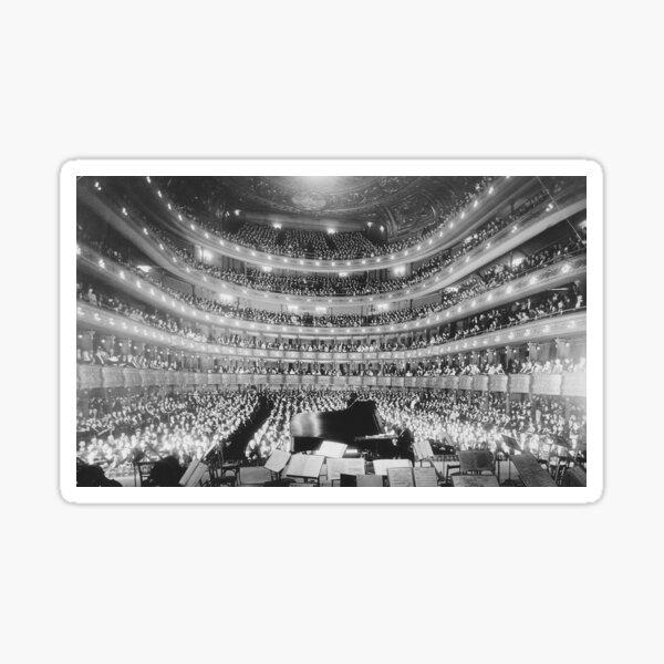 Metropolitan Opera House 39th Street New York City Sticker