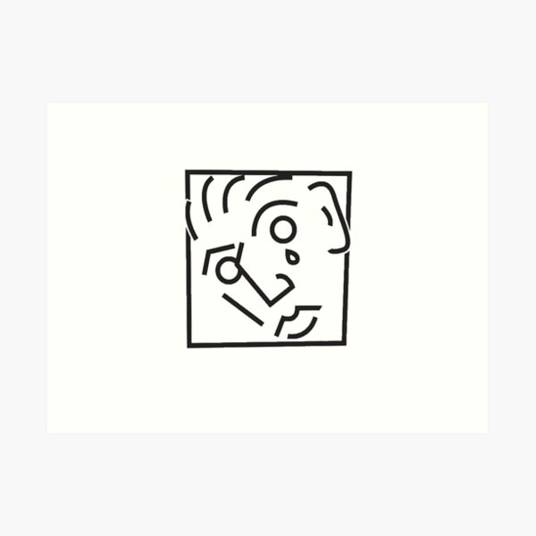Marc e bassy transparent logo  Art Print